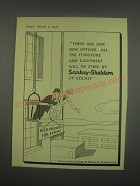 1949 Sankey-Sheldon Office Furniture Ad - These are our new offices