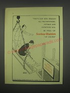 1949 Sankey-Sheldon OFfice Furniture Ad - That's our new branch