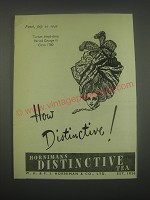 1949 Hornimans Distinctive Tea Ad - Turban Head-Dress period George III