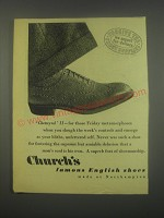 1949 Church's Chetwynd II Shoes Ad