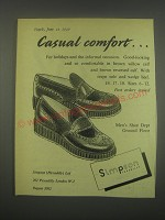 1949 Simpson Shoes Ad - Casual comfort
