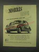 1949 Morris Minor Car Ad - The world's supreme small car