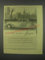 1949 Jaguar Mark V car Ad - The new Mark V Jaguar