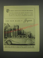 1949 Jaguar Mark V car Ad - The finest car of its class in the world