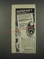 1949 American Bolex Norwood Director Exposure Meter Ad - Hollywood used first