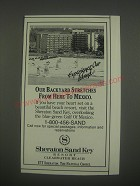 1991 Sheraton Sand Key Resort, Clearwater Beach, FL Ad - Experience our island