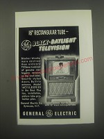 1950 General Electric Model 16C115 Television Advertisement