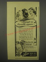 1940 Kerr Mason Jars Caps & Lids Ad - Mary's in trouble again