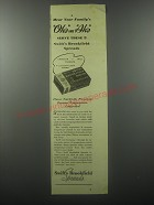 1939 Swift's Brookfield Spreads Ad - Hear your family's oh's and Ah's