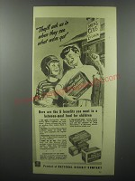 1939 Nabisco Honey Maid Graham Crackers Ad - They'll ask us in when they see