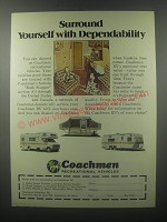 1976 Coachmen RV Ad - Surround yourself with dependability