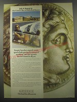 1974 Greece Tourism Ad - July & August in the Greece the crowds don't know