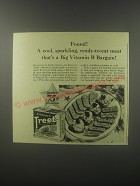 1942 Armour's Treet Meat Ad - Found! A cool, sparkling, ready-to-eat meat