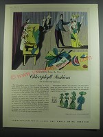 1953 Schweppes Drinks Ad - Lewitt-Him, Stephen Potter - chlorophyll fashions