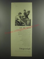 1953 Imperial Typewriter Advertisement - Ask the typist