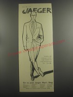 1953 Jaeger Two-Piece Suits Ad - Jaeger
