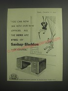 1953 Sankey-Sheldon Limited Ad - You can now see into our new offices