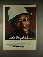 1977 Standard Life Insurance Ad w/ Clive Lloyd - NICE!!