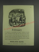 1953 Midland Bank Ad - February
