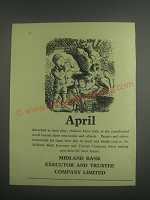 1953 Midland Bank Ad - April