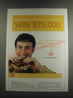 2005 Arby's Market Fresh Reuben Ad - Come to Arby's and enter for a chance
