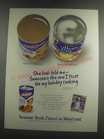 2003 Swanson Chicken Broth Ad - One look told me - Swanson's the one I trust