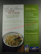 2003 Swanson Chicken Broth Ad - recipe for Swanson Festive Cranberry stuffing