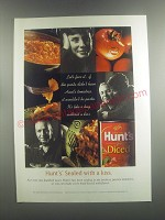 2001 Hunt's Diced Tomatoes Ad - Hunt's. Sealed with a kiss