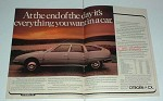1979 2-page Citroen CX 2400 Pallas Car Ad - NICE!!
