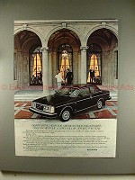1980 Volvo Bertone Coupe Car Ad - Disappointing News!!