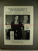 1980 Fortunoff Jewelry Ad w/ Lauren Bacall - Brilliant!