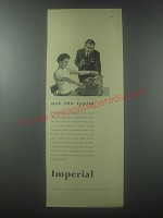 1954 Imperial Typewriter Advertisement - Ask the typist