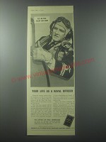 1954 Fleet Air Arm Ad - Your life as a naval officer