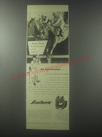 1954 Lentheric Three Musketeers Trio Ad - Morning disaster - by Man of Action