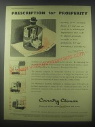 1954 Coventry Climax Fork Trucks Ad - Prescription for prosperity