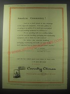 1954 Coventry Climax Fork Trucks Advertisement - American Commentary