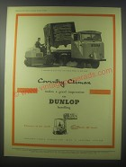 1954 Coventry Climax Fork Trucks Ad - Coventry Climax makes a good impression