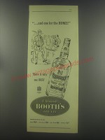 1954 Booth's Dry Gin Advertisement - one for the home!