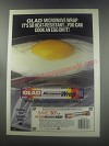 1986 Glad Microwave Wrap Ad - Glad microwave wrap it's so heat-resistant