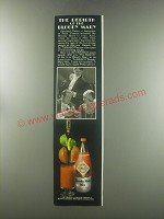 1980 Tabasco Bloody Mary Mix Ad - The rebirth of the bloody mary