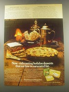 1972 Fleischmann's Margarine Advertisement - recipe for Festive Fruitcake
