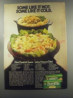 1970 Creamettes Spaghetti and Macaroni Ad - recipe for Baked Spaghetti Supper
