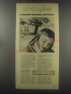 1946 Lydia E. Pinkham's Vegetable Compound Ad - Is this suffering a woman's