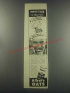 1945 Albers Oats Ad - Now get both in Albers Oats