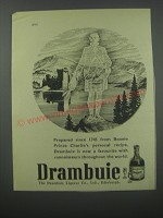 1954 Drambuie Liqueur Ad - Prepared since 1745 from Bonnie Prince Charlie's