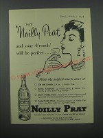 1954 Noilly Prat Vermouth Advertisement - Your French will be perfect