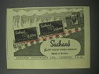 1954 Suchard Brittra and Velma chocolate Ad - Suchard swiss suchard process