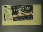 1944 Van Camp's Tenderoni Ad - Tenderoni is different from ordinary macaroni