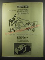 1955 Olivetti Summa 15 Adding Machine Advertisement