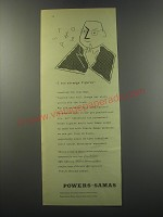 1955 Powers-Samas punched-card equipment Ad - I see strange figures
